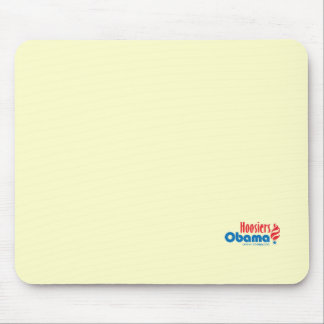 Obama Hoosiers Indiana Mousepad