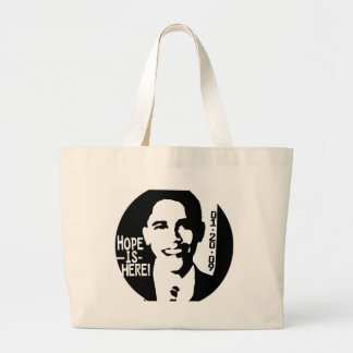 Obama Hope is Here 2009 Gear Tote Bags