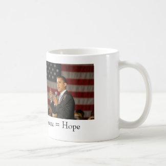Obama = Hope Mug