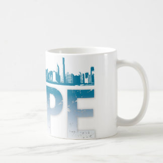 Obama Hope Mug Chicago Skyline