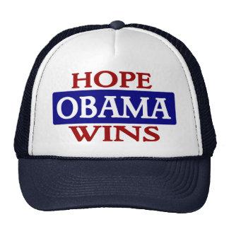 Obama - Hope Wins Trucker Hat