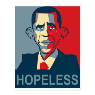 Obama hopeless post card