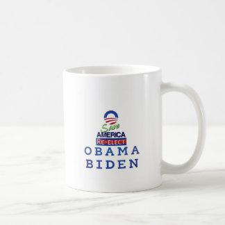 obama i love basic white mug