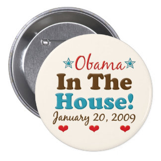 Obama In The House Button