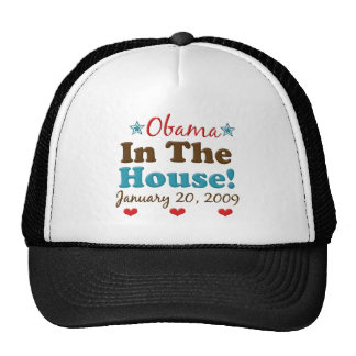 Obama In The House Hat