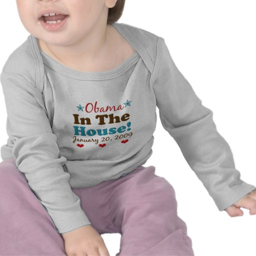 Obama In The House Infant Long Sleeve Tee