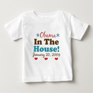 Obama In The House Infant T shirt