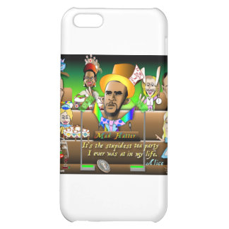 Obama in Wonderland Cover For iPhone 5C