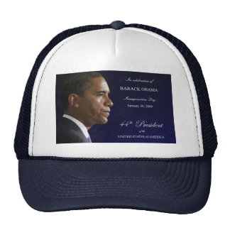 Obama Inauguration Celebration Hat