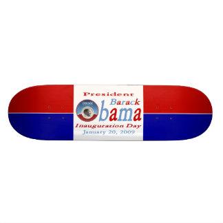 Obama Inauguration Day Skate Board