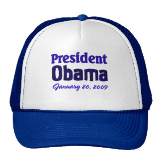 Obama Inauguration Trucker Hats