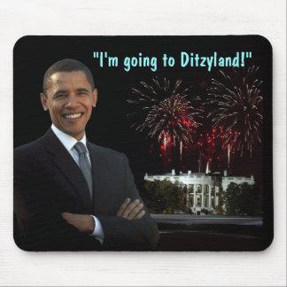 Obama Inauguration Humor - Ditzyland Mousepad