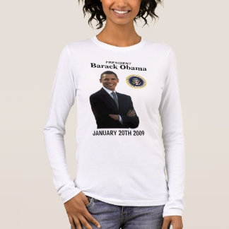 Obama Inauguration Ladies Long-sleeve Tee