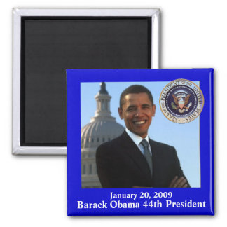 Obama Inauguration souvenir Magnet