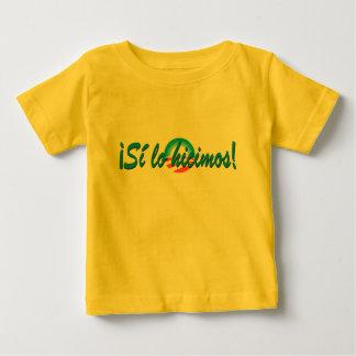 Obama Inauguration Spanish Si lo hicimos Baby T-Shirt