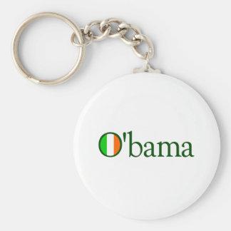 Obama Irish Key Ring