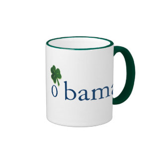 Obama, Irish Mug