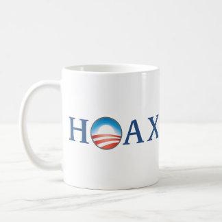 Obama is a HOAX Coffee Mugs