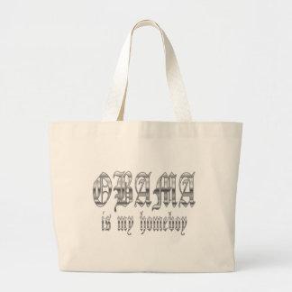 Obama Is My Homeboy Canvas Bag