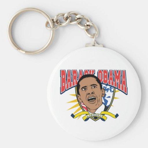 Obama Is President Key Chain