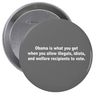 Obama is what you get when pinback buttons