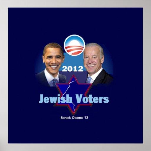Obama Jewish POSTER Print