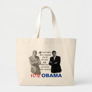 Obama/JFK Carry-All Bag