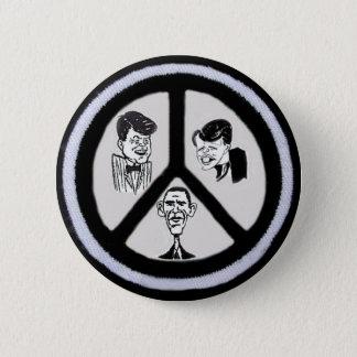 Obama/JFK/RFK Peace Button