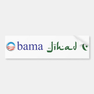 Obama Jihad Bumper Sticker