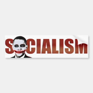 Obama Joker Bumper Sticker