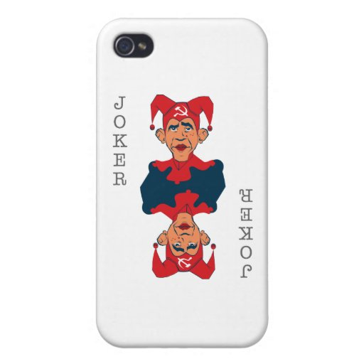Obama-Joker Covers For iPhone 4