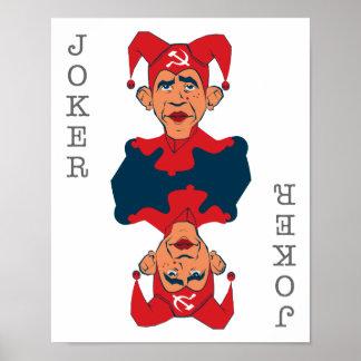 Obama - joker posters
