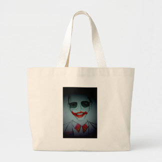 Obama Joker Jumbo Tote Bag