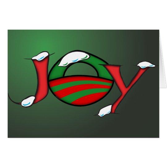 Obama Joy Christmas Card