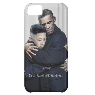 Obama Kim Jong Un North Korea Love iPhone 5C Case