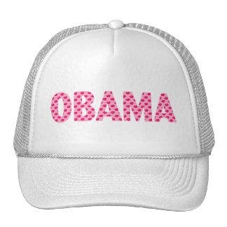 Obama Kisses Trucker Hats