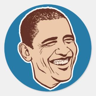 Obama Lapel Sticker Set
