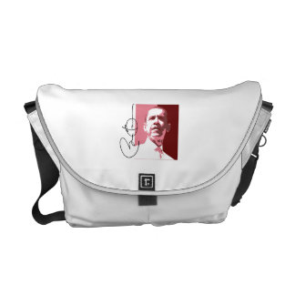 OBAMA LEADERSHIP RED.png Courier Bag