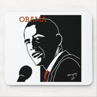 Obama Line by Norjay - 09 Mouse Pad