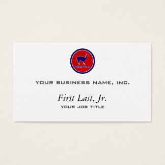 Obama Llama Business Card