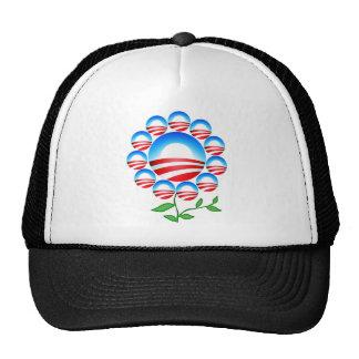 Obama Logo Flower Cap