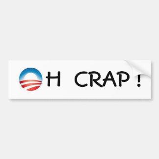 obama logo, H  CRAP ! Bumper Sticker