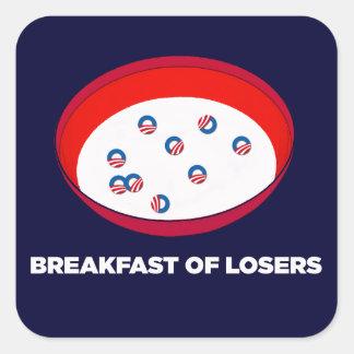 Obama Logo Parody - Breakfast of Losers stickers