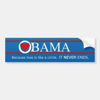 Obama Love Bumper Sticker