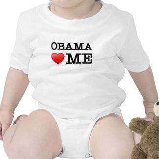 Obama loves me romper