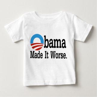 Obama Made It Worse Shirt