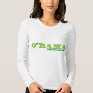 Obama (magically delicious) long-sleeve tee
