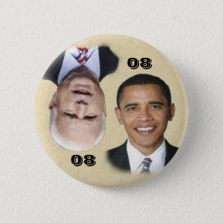 Obama/McCain 08/80 Button
