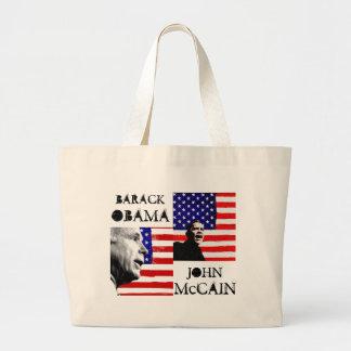 Obama / McCain Flag Bag