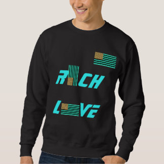 OBAMA MENS RICH LOVE SWEATER